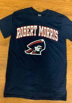 Robert Morris Colonials Navy Blue Arch Mascot Short Sleeve T Shirt - 22785443 Pitt Panthers, Pittsburgh, Arch, Navy Blue, Sleeve, Mens Tops, T Shirt, Fashion, Manga