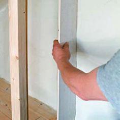 A closet with sliding doors under the eaves: tutorial - Attic Rooms, Closet Bedroom, Sliding Doors, Closet Doors, Decorating, Blog, Closets, School, Closet Storage