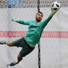 World Cup goalkeeper information Group B - Portugal Rui Patricio - aged 30 Patrício is Portugals number 1 and has been since his debut at 22 back in 2010 he has 69 appearances for his country and has featured at 5 major tournaments this being his 6th major tournament Patrício won the Euros with Portugal in 2016 their first major tournament win Anthony Lopez - the 27 year old has been at Olympic Lyon since 2008 featuring 183 times for the club his form has improved over the past year which… Germany Football Team, Football Players, Training Programs, Workout Programs, No Equipment Workout, Workout Gear, Goalkeeper Training, Feel Fantastic, European Championships