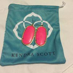 Kendra Scott Danielle Earrings Neon pink Danielle Kendra Scott Jewelry Earrings