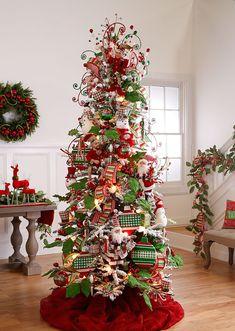 2016 raz christmas trees - Christmas Tree Color Themes