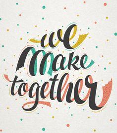 Etsy - We make together by Martina Flor, via Behance
