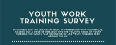 Catch up with the results of the YouthWorker Training Survey