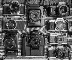 Assortment Mixer, Cameras, Music Instruments, Audio, Camera, Musical Instruments, Stand Mixer, Film Camera