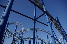 Blue Tornado Roller Coaster by _CPDT, via Flickr