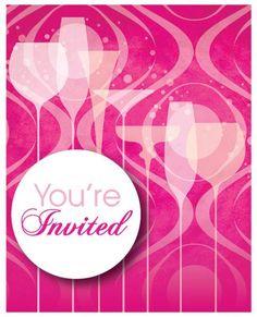 Fabulous Birthday Invitation 8 Count