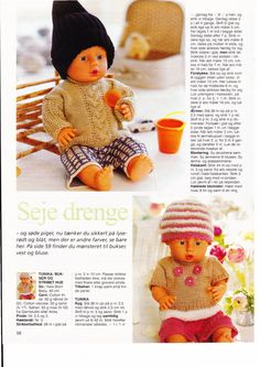 Albumarkiv Crochet Dolls, Crochet Hats, Baby Born, Doll Patterns, Hobbit, Paper Dolls, Baby Dolls, Doll Clothes, Arts And Crafts