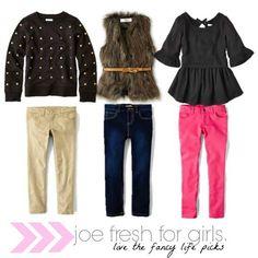 Budget-friendly Toddler girl fashion from Joe #new fashions #Fashion Designs #girl fashions