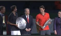 Congratulations to Roger Federer on his first Shanghai Masters title!