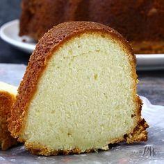 Lemon Cream Cheese Pound Cake Recipe
