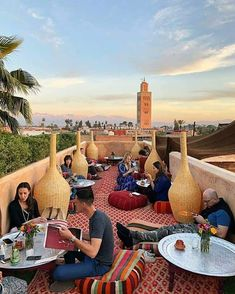 coffee shop Riad el fenn in Marrakech. Solo Travel, Us Travel, Holiday Destinations, Travel Destinations, Front Porch Design, Morocco Travel, Travelogue, France, Travel Photographer