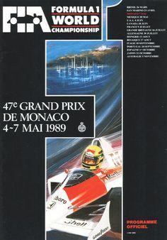 471GP - 47e GRAND PRIX DE MONACO 1989