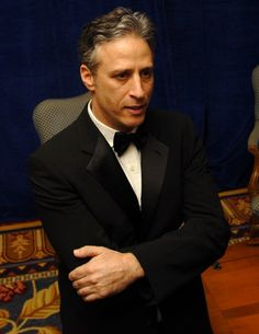 jon stewart... Wicked smart and funny!!