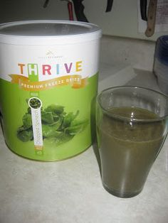 Cooking With My Food Storage: Green Smoothies-with Freeze Dried Spinach