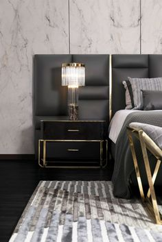 Brass Hardware & Modern Furnishings: A Perfect Match Made in Heaven ⇒ If you are looking to add a bit of timeless allure to your home interiors, introducing bra Luxury Interior Design, Luxury Home Decor, Interior Design Inspiration, Home Decor Inspiration, Luxury Homes, Interior Modern, Interior Ideas, Master Bedroom Set, Cheap Modular Homes