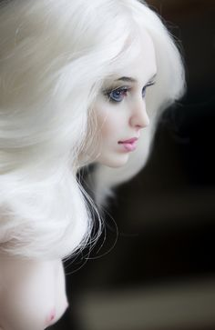 Porcelain art doll by Анастасия Луценко, on Flickr