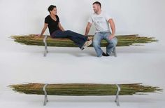 These Bamboo Benches are Stylish, Durable and Eco-Friendly #bamboo #furniture trendhunter.com
