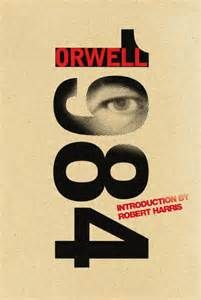 Nineteen Eighty-Four Anniversary Edition) by George Orwell, Harvill Secker (Random House Group). Features an introduction by the novelist Robert Harris. Good Books, Books To Read, My Books, Amazing Books, Book Cover Design, Book Design, George Orwell Quotes, Nineteen Eighty Four, Web Design