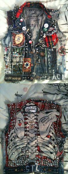 CHALECOS PUNK JACKET ~ Heavy Metal HD