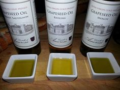 Castello di Amorosa Sommelier Mary Davidek talks about the benefits of Grapeseed Oil #healthy