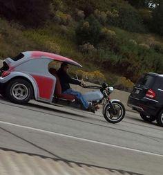 Hybrid vehicle.