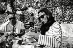 Phoebe Philo met l'austérité à la mode Celine, Love Photos, Couple Photos, Striped Sandals, Juergen Teller, Garance, Phoebe Philo, French Fashion, Women's Fashion