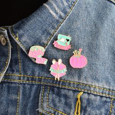 Apparel Sewing & Fabric Honest 1 Pcs Cartoon Cat Pearl Pendant Metal Brooch Button Pins Denim Jacket Pin Jewelry Decoration Badge For Clothes Lapel Pins Year-End Bargain Sale