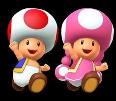 Toad and Toadette by on DeviantArt Super Mario Nintendo, Super Mario Art, Mario Room, Mario Kart 8, Mario Brothers, Gremlins, Halloween 2019, Toad, Luigi