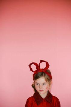Shan and Toad ♥ Papier Mache magazine ✭ My Little Dress Up's LIMA dress & Olivia headband ✭