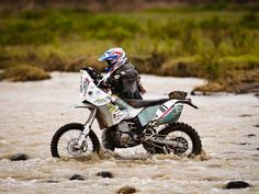 Ned Suesse the only American to finish the 2012 Dakar.
