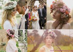 Beautiful flower crowns!