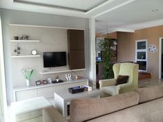 Living room in progress. Raffles hills blok N