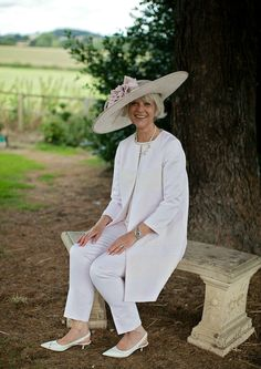 Josephine from Chic At Any Age is garden party chic.