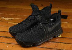 huge selection of c6b37 efc7a Latest and Cheapest Nike KD 9 Black Space Triple Black 843392 001 · Air  Jordan ...