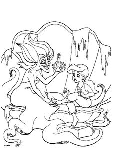 The little mermaid 2 coloring pages Google sgning Maa