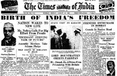 Times Of India - August 15, 1947