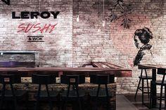 Leroy Sushi by Studio Arkitekter, Budapest – Hungary » Retail Design Blog