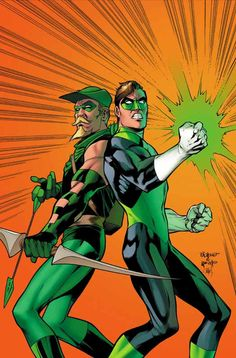 Green Arrow and Green Lantern by Carlos Pacheco