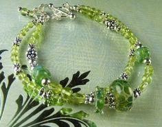 PERIDOT GEMSTONE BRACELET (Nadia) by Gonet Jewelry Design