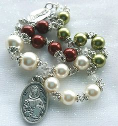 Hey, I found this really awesome Etsy listing at https://www.etsy.com/listing/459251706/chaplet-of-saint-dymphna-large-beads