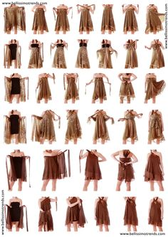 Instructions : How to wear Skirts