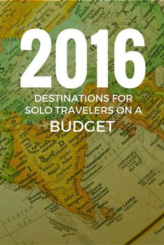 Destinations for Solo Travelers on a Budget: The 2016 Shortlist http://solotravelerblog.com/destinations-for-solo-travelers-on-a-budget/