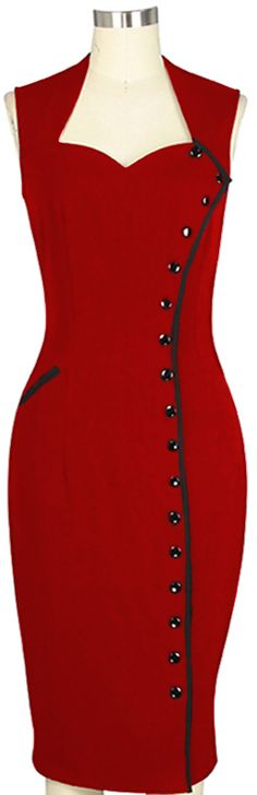 Vintage inspired Wiggle dress by Amber Middaugh