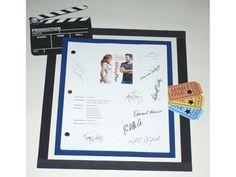 "The Back-Up Plan"" 2010 Movie Script Signed Screenplay Autographed: Jennifer Lopez, Alex O'Loughlin, Eric Christian Olsen, Noureen DeWulf"