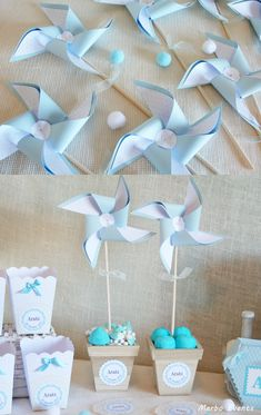 36 Ideas for baby boy baptism decorations simple Baby Shower Parties, Baby Shower Themes, Baby Boy Shower, Shower Ideas, Baby Boy Baptism, Baby Shawer, Baby Shower Souvenirs, Baptism Decorations, Diy And Crafts