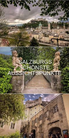City trip Salzburg from above sights viewpoints Travel Tours, Nightlife Travel, Asia Travel, Italy Travel, Las Vegas Hotels, Croatia Travel, Thailand Travel, Bangkok Thailand, Oahu