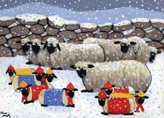 Happy Christmas To Ewe by Thomas Joseph