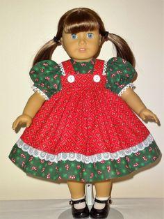 Dress for 18 inch American Girl by SewbeitsDollWear on Etsy