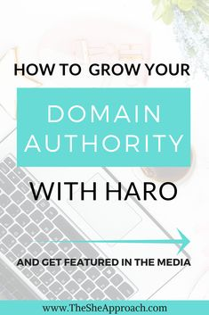 How To Improve Blog DA Score By Using HARO – A Blogger's Guide To Building Backlinks With Help A Reporter Out. As a blogger, you probably already know that improving your DA score and building backlinks to your blog is vitally important for ranking your posts in the search engines. Read more SEO tips for bloggers on The She Approach! #SEOtips #blogtraffic #domainauthority Seo Guide, Seo Tips, Google Traffic, Blogging For Beginners, Make Money Blogging, Social Media Tips, Improve Yourself, Author, Building