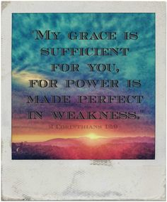 """My Grace is Sufficent"" ~ digital paint effect"